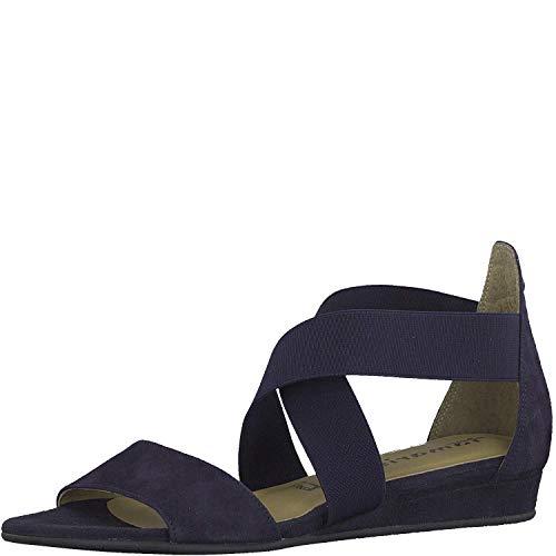 Tamaris dames sandalen 147 1-1-28138-22 805 blauw 605304