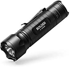 Anker Bolder LC30 Flashlight, LED Torch, Super Bright 300 Lumens CREE LED, IPX5 Water Resistant, 3 Modes High/Low/Strobe, Pocket Sized