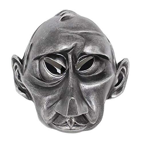 Verhaal van het leven Halloween Celebrity Grappig Cartoon Masker Grimace Dress Up Bar Masquerade Hars Masker Character Gezicht, Zilver