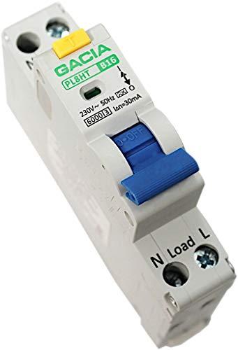 FI/LS-Schalter Leitungsschutzschalter/Fi-Schalter RCBO B16 1P 30mA Typ A GACIA