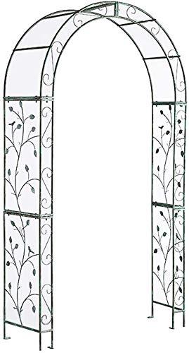 LLDKA Arbor Jardín Retro de Metal cenador del jardín de Acero, la Primera Parte Hacer la decoración Boda del Arco, la Enredadera