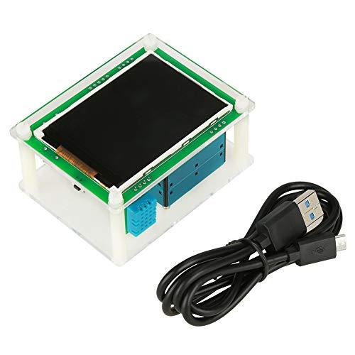 Zyyini Luftqualitätsdetektor, 2,8 Zoll Digitales Multifunktionsauto PM2.5 Luftqualitätsdetektor Digitale Luftpartikel Messgerät Tester AQI Home Gas Monitor