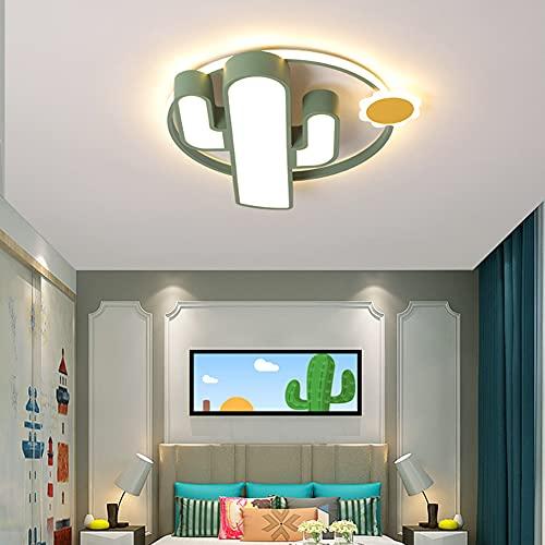 YXXHM- Plafón Regulable con Mando A Distancia, Plafón LED En Habitación Infantil, Luz Decorativa De Aluminio + Acrílico, Recámara Jardín De Infancia 40cm
