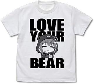 くまクマ熊ベアー ユナ Tシャツ/WHITE-M