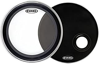 """Evans EMAD System Pack, 22"""" (2pc) – Includes Batter Bass..."""