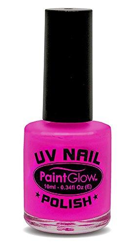 PaintGlow UV Neon Nagellack Magenta