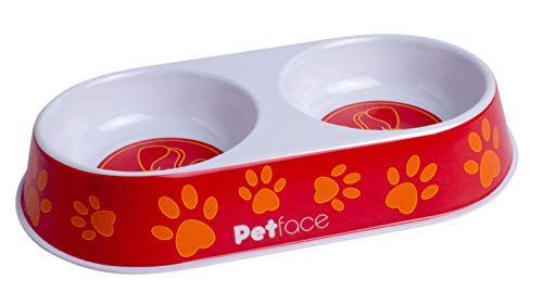 Petface Melamine Double Cat Bowl