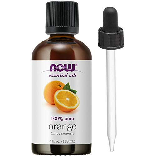 NOW Foods Orange Oil Sweet, 4 Ounce + 1 Glass Dropper (Oil Now Foods)