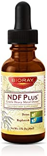 Detox Cleanser Herbal Supplement by Bioray | NDF Plus Improves Memory and Immune Function, Eliminates Brain Fog, Increases...