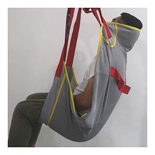 Patientenlift Sling - Transferdecke for Bett Positionierung und Heben - Große Geräte for Caregiver ältere Behinderte Ganzkörper und bettlägerig untere Extremität Gehen Stehen Trainingsgeräte 0406