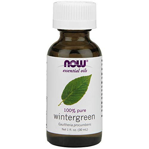 NOW Wintergreen Oil, 1-Ounce (Pack Of 2) Mississippi