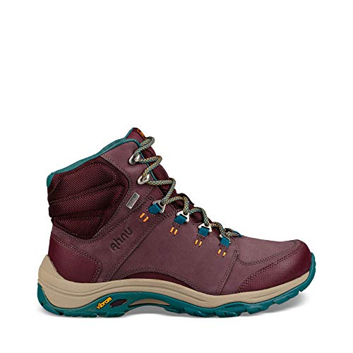 Ahnu Women's W Montara III Boot Event Hiking, deep Wine, 10 M US