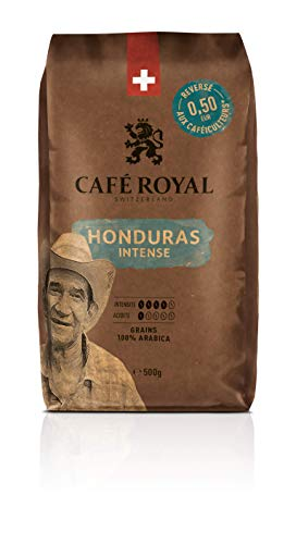 Café Royal Honduras Intense Café en Grains Intensité 4/5 - 500 g