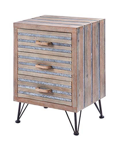 ts-ideen commode ladekast sideboard rek industriële used look 67x47 cm