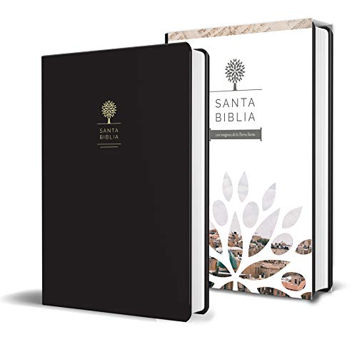 Compare Textbook Prices for Biblia Reina Valera 1960 letra grande. Símil piel color negro, tamaño manual / Spanish Holy Bible RVR 1960. Handy Size, Large Print, Black Leathersoft Spanish Edition Large Print Edition ISBN 9781644730997 by Reina Valera Revisada 1960