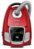 Inventor EP-BG62 5+, Aspirapolvere a Traino con Sacco, Display A LED, Silenziosa 61 (Db), 700W, capacità di 3,5L, Filtro HEPA