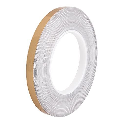 50 m / rollo de baldosa cerámica a prueba de huecos de la cinta de la cinta de la cinta autoadhesiva auto adhesiva para las cintas impermeables para la decoración de la esquina de los bordes del lado