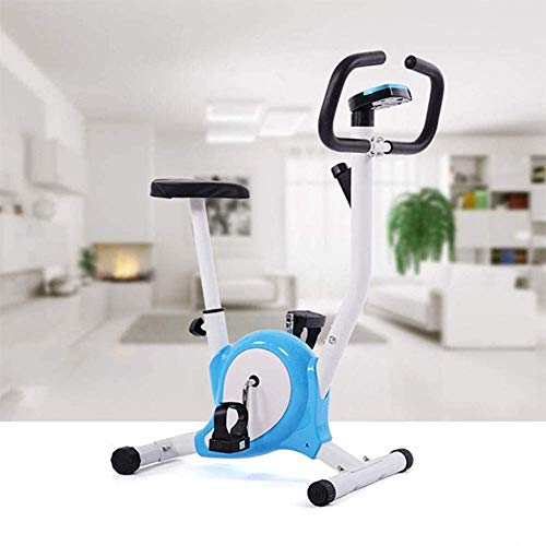 Find Bargain YAOLAN Indoor Cycling Bike, with Adjustable Seat Height 4-Function Monitor(Speed ...