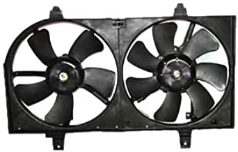 TYC 620730 Nissan Sentra Replacement Radiator/Condenser Cooling Fan Assembly