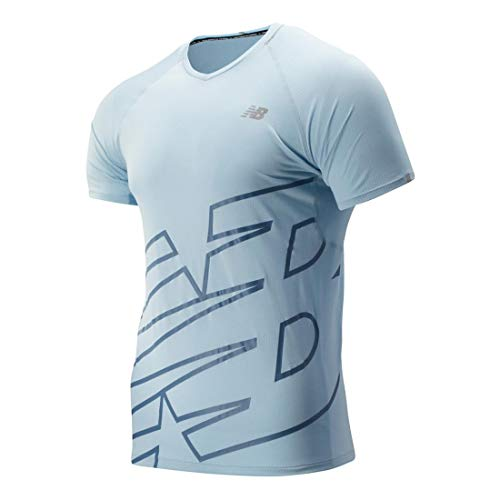 New Balance NB Ice 2.0 Mesh SS Running tee - Camiseta Hombre