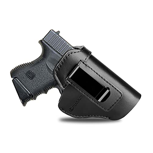 Rukulin Pure Cowhide IWB Leather Holster, Gun Holster for...
