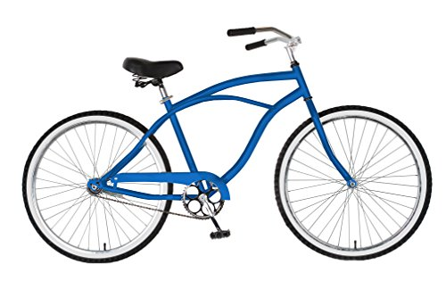 Amazing Deal Cycle Force Cruiser Bike, 26 inch Wheels, 18 inch Frame, Men's Bike, Blue