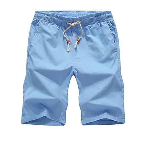 ShFhhwrl Pantalones Cortos Deportivos De Verano Sueltos para Correr Pantalones Cortos Casuales De Verano De Talla Grande para Hom