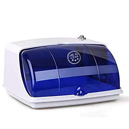 Veiligheid UV sterilisator, voor mobiele telefoons, fopspenen, tandenborstels tanden, make-up kwasten, serviesgoed, lingerie, sieraden, brillen, maskers, handdoek,White