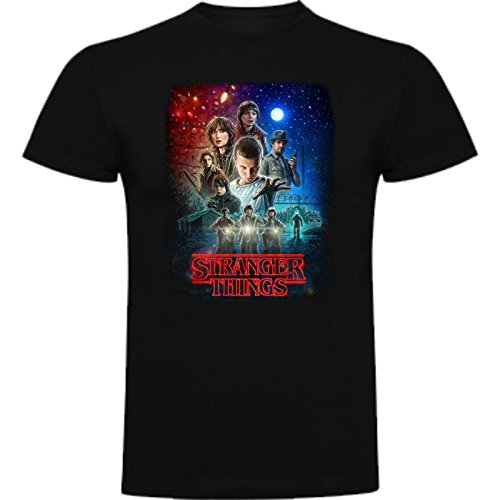Camiseta de NIÑOS Stranger Things Serie Retro TV 80 11-12 Años