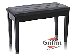 Griffin Premium Piano Bench - Best Piano Keyboard Benches