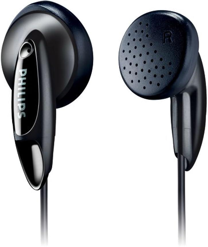 グラム提出するフライトフィリップス SHE1360 低音ベントステレオヘッドホンイヤホンiPod/iPhoneの/ギャラクシー/mp