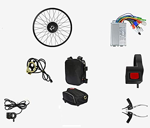 "LIBAITIAN 36V 350W 20""Kit de conversión de Motor de Bicicleta eléctrica de Rueda Delantera E-Bike Buje de Ciclismo para Bicicleta de montaña Bicicleta de Carretera 🔥"