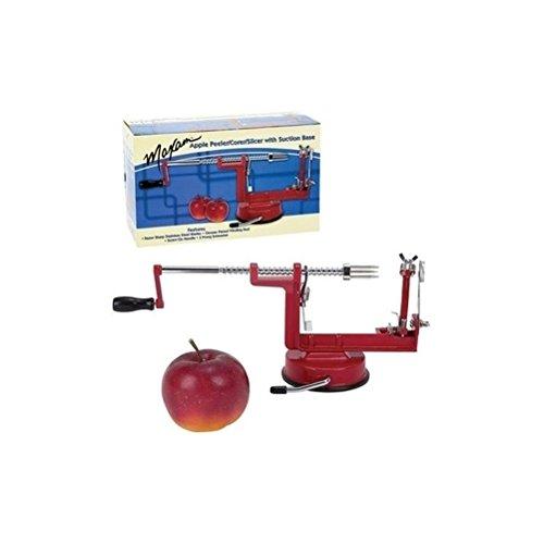 Targarian 3 en 1 pelador de Manzanas, máquina de Cortar, rodajas, máquina de extracción del corazón - Cortador para Fruta o Patatas by