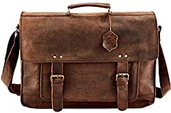 leather messenger bag