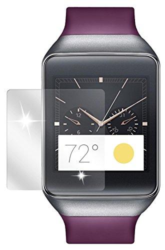 dipos I 2X Schutzfolie klar kompatibel mit Samsung Gear Live Folie Bildschirmschutzfolie