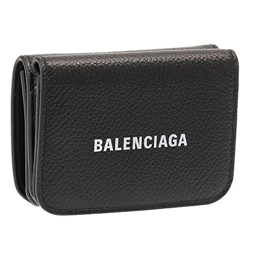 [バレンシアガ] BALENCIAGA 3つ折り財布 ミニ財布 CASH MINI WALLET キャッシュミニ 593813 1IZIM 1090 [並...