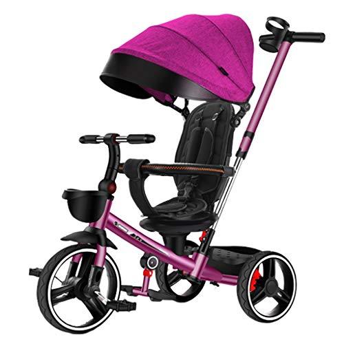 Kiter Baby kinderwagen Pushchair kinderdriewieler inklapbaar lichtgewicht kinderfiets hoeft niet te worden geïnstalleerd Cup houder verstelbare kinderwagen