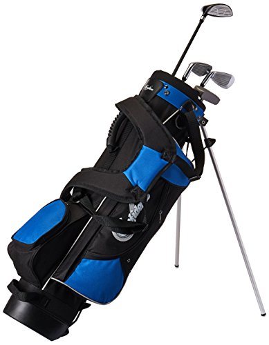 Confidence Junior Golf Club Set with Stand Bag (Right Hand, Ages 8-12)