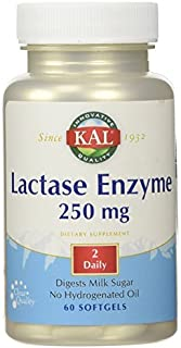 Lactase Enzyme 250 mg. - 60 Softgels by Kal