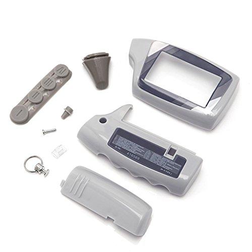 Guangtian Keychain Fall Für Russische Scher-Khan Magicar 5 Auto Alarmanlage LCD Fernbedienung M5 M902F / M903F