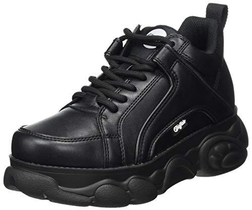 Buffalo Damen CLD Corin Sneaker, Black, 38 EU