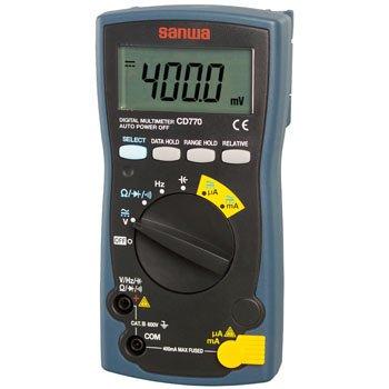 デジタルマルチメータ CD770