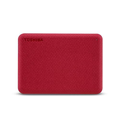 Toshiba Canvio Advance Disque Dur Externe 4000 Go Rouge