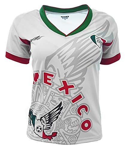 Arza Sports Mexico Slim Womens Soccer Jersey Exclusive Desin
