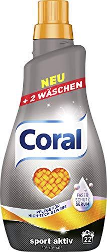 Coral Feinwaschmittel Sport Activ flüssig, 22 WL