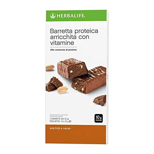 Barrette alle proteine cacao e arachidi (1 conf. da 14 barrette)
