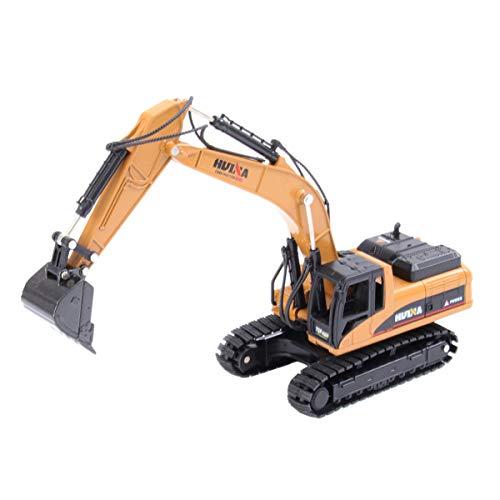 TOYANDONA Juguetes de Excavadora de Aleación para Niños 1:50 Vehículos de Ingeniería de Metal Funcionales Inteligentes Juguetes Excavadora Camiones Vehículos Juguetes de Construcción