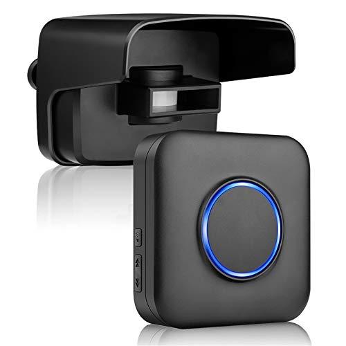 Bitiwend Driveway Sensor Wireless Driveway Motion Detecor with 500ft Wireless Range,Driveway Motion Sensor Alarm Waterproof Motion Sensor & Detector for Home,Yard,Garage (Batteries Not Included)