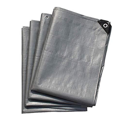 Hogar lona impermeable Lona impermeable for trabajo pesado engrosamiento 0,35 mm a prueba de lluvia al aire libre del paño de protección solar pueden llevar hebilla de metal de polietileno Lona de cam