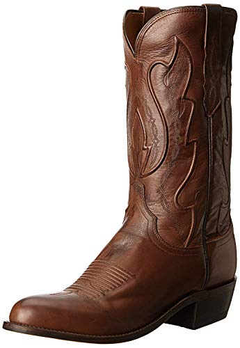 Lucchese Cole-Tan Ranch Mano del Bootmaker Hombres Botas de equitación, Marrón (Beige (Tan Ranch)), 9,5 D(M) US
